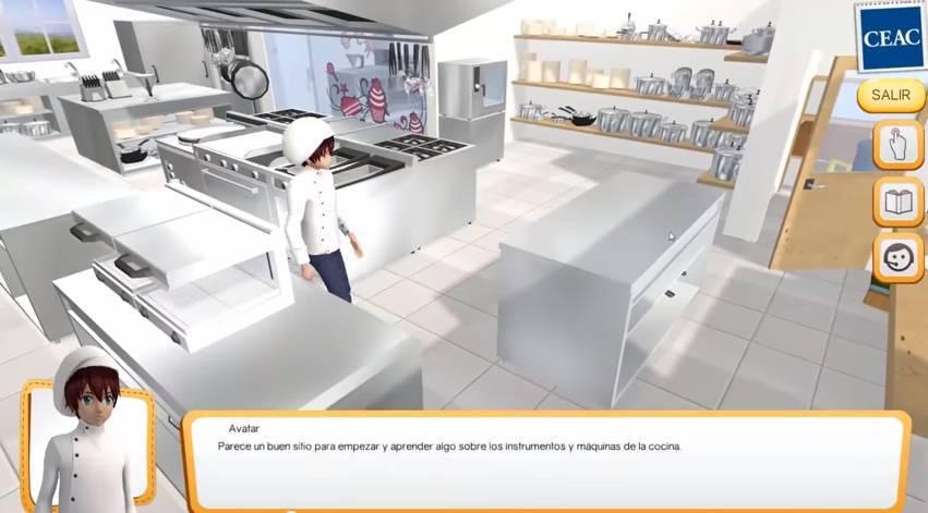 Simuladores formativos for Simulador cocinas 3d